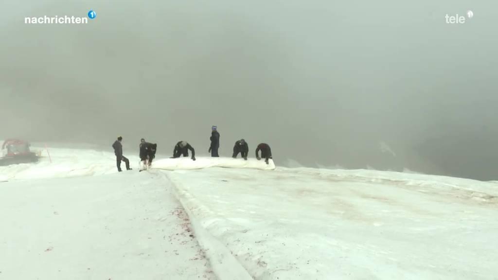 Kühler Sommer hilft Gletscher beim Gemsstock