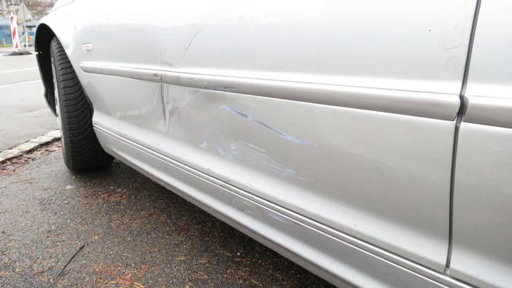 Der Roller krachte seitlich-frontal in den BMW.
