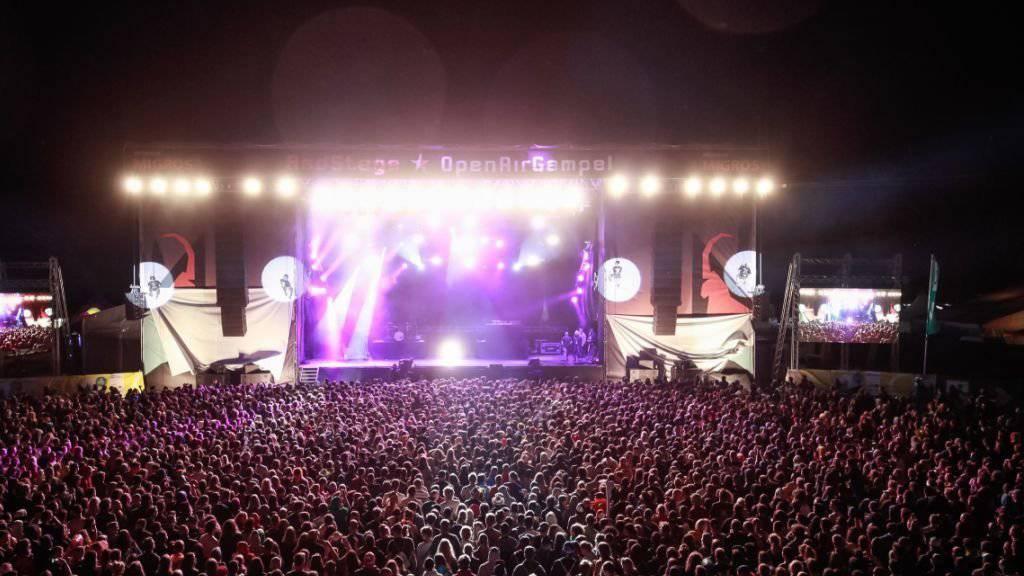 Grosse Party am Open Air Gampel: Die Veranstalter können ein ebenso erfolgreiches wie friedliches Festival verzeichnen. (Pressebild)