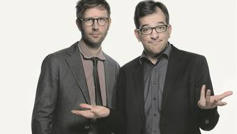 Samuel Blatter (links) und Kilian Ziegler haben ihr zweites gemeinsames Bühnenprogramm zusammengestellt. HO