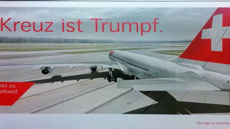 Ein Dorn im Auge vieler Muslime: der Swiss-Slogan.