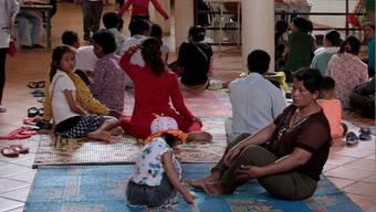 Die Aufnahmestation des Khanta-Bhopa-Spitals ist immer übervoll.