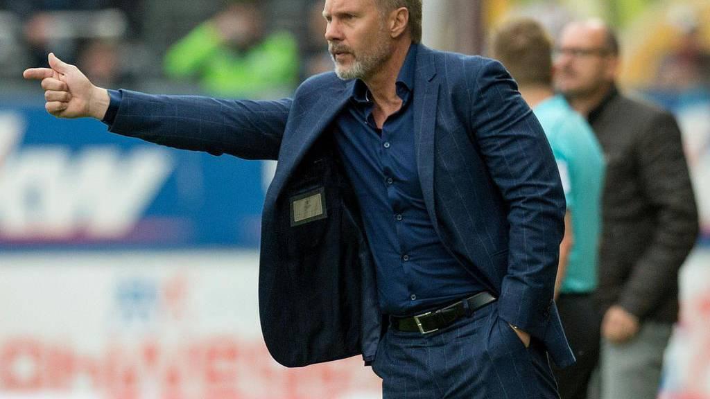 Austria-Wien-Trainer Thorsten Fink ist nicht immer nett zu Journalisten.