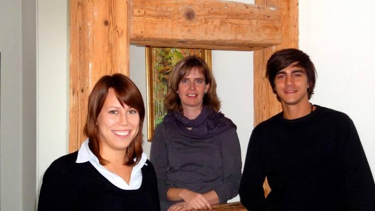 Ammann Claudia Balz Brunner umrahmt von Andrea Meier und  Marc Meier