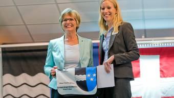 Feier der neuen Grossratspräsidentin Vreni Friker-Kaspar