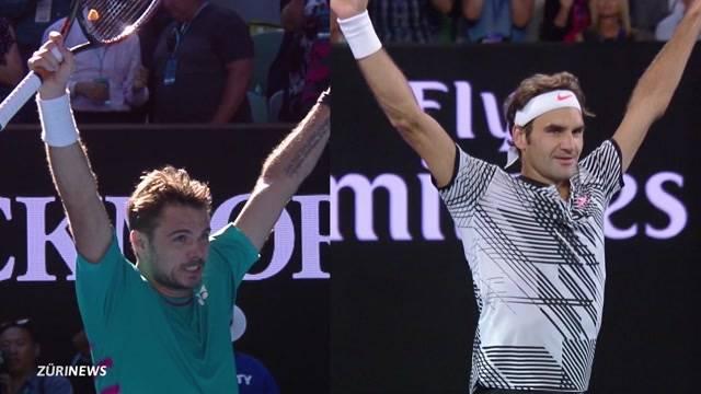 Traumhalbfinal Federer-Wawrinka