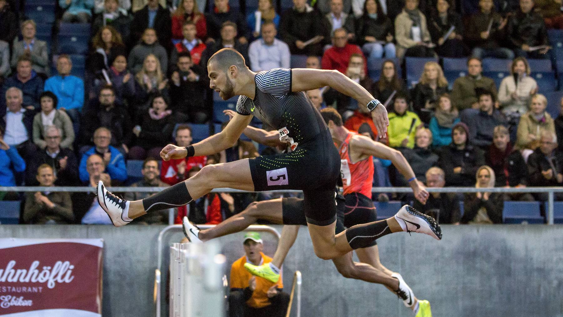 Hürdenläufer Kariem Hussein