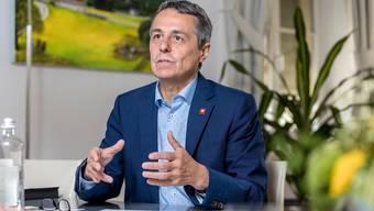 Bundesrat Ignazio Cassis.