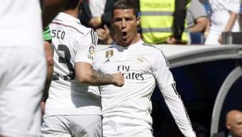 Cristiano Ronaldos Torjubel in gewohnter Manier