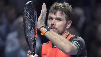 Job erledigt: Stan Wawrinka steht in Basel erstmals seit 2011 im Viertelfinal
