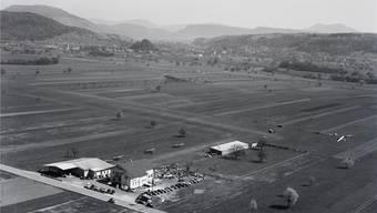 Über den Wolken: Von 1950 bis 1965 war das Sisslerfeld, das heute von Chemie- und Pharmafirmen beherrscht wird, ein Flugplatz.