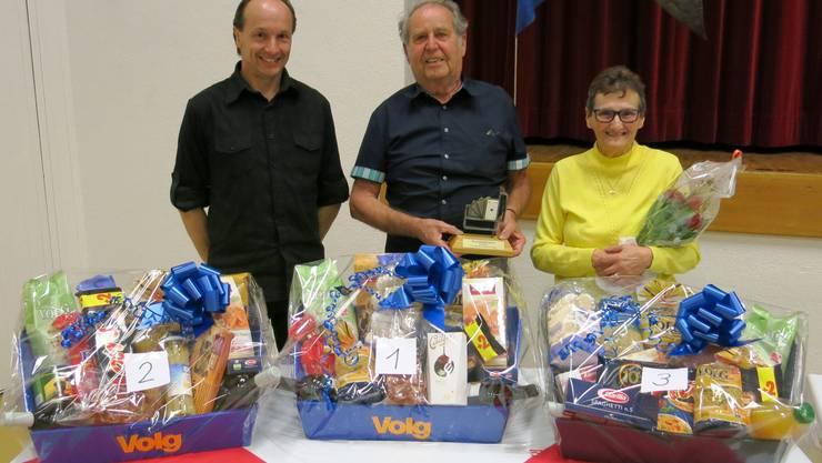 Daniel Hotz, Josef Bégue, Käthi Russer