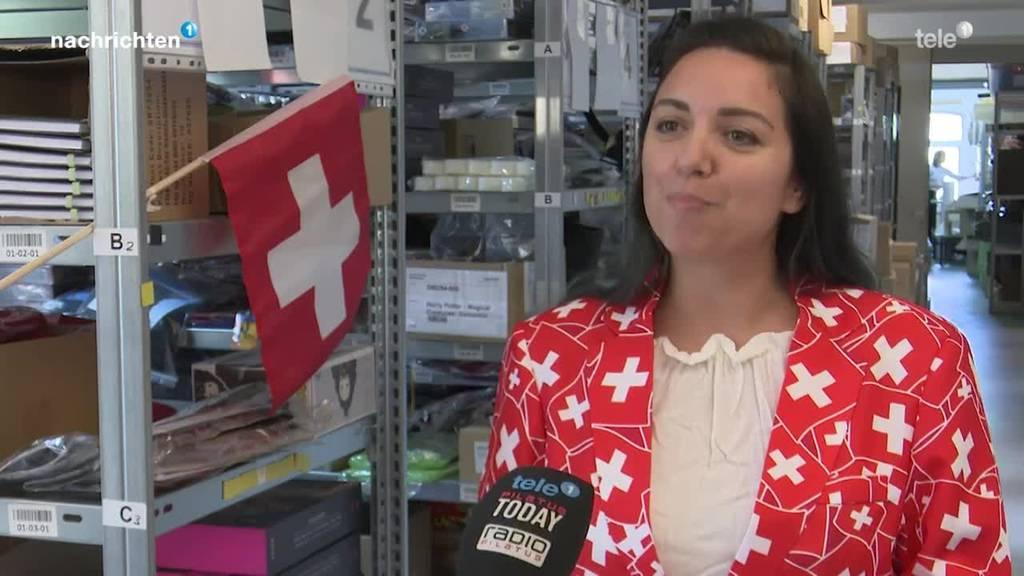 Run auf Fanartikel nach Schweizer Sieg