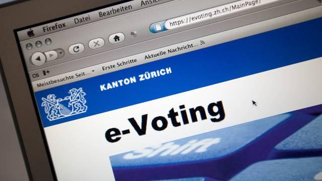 Die E-Voting-Testphase im Kanton Zürich startete 2008 (Archiv)