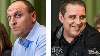 Im Bild: Sasa Stajic (FDP) und Boris Steffen (SVP).