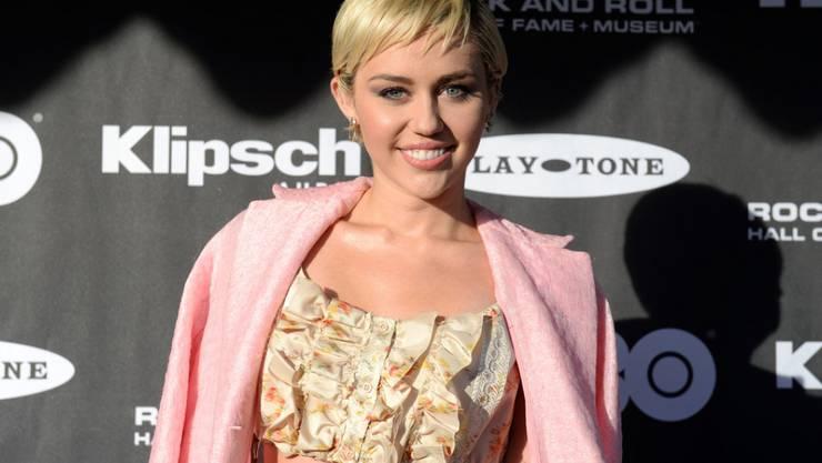 Tierschutzorganisation PETA wählte Miley Cyrus zur Veganerin mit dem grössten Sex-Appeal (Archiv)