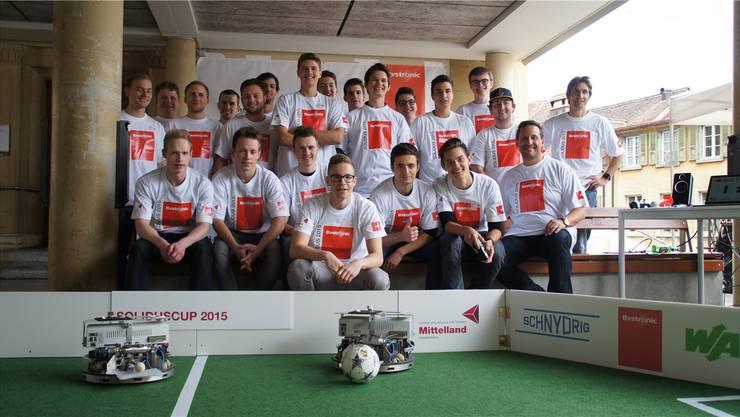 Die Teilnehmer des Solidus Cups 2015