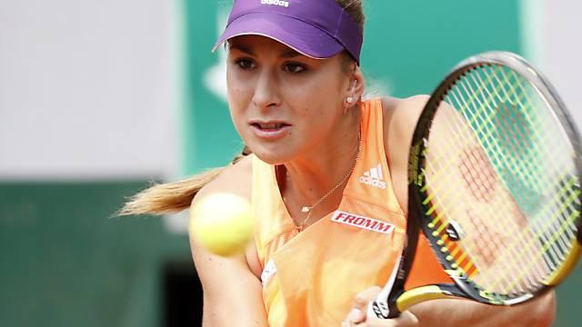 Belinda Bencic steht in Birmingham in der 2. Runde