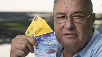 René Hermann ist überall Mitglied: Bezahlen will niemand.