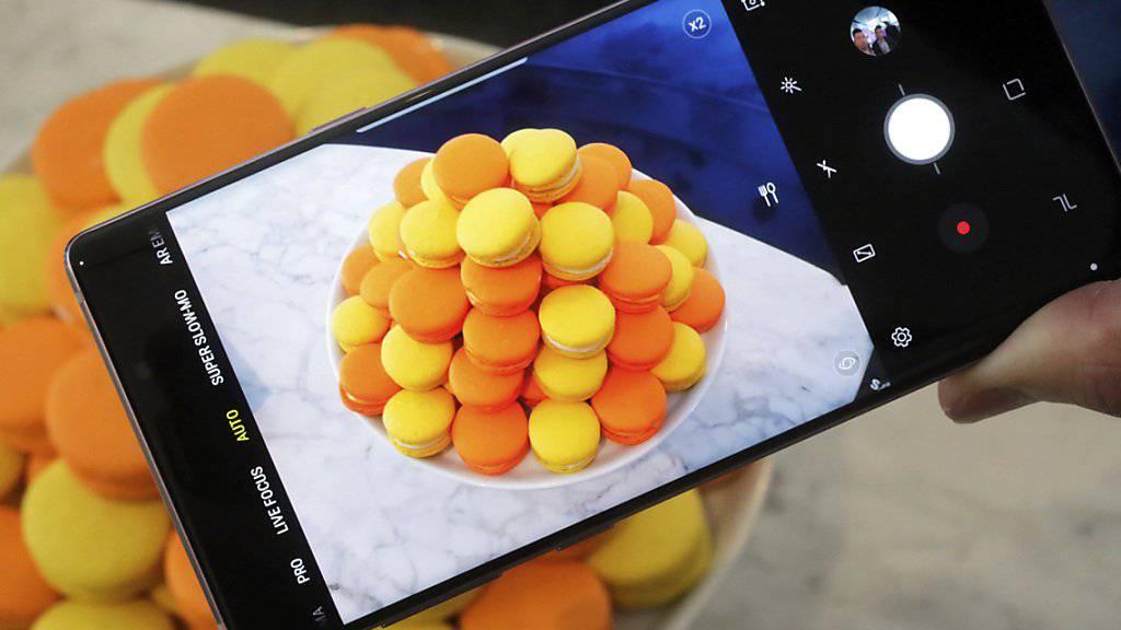Verkauften sich zuletzt weniger: Die Smartphones von Samsung. (Archivbild)