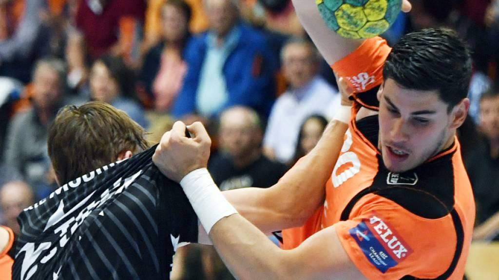 Erster Auswärtssieg für Kadetten Schaffhausen