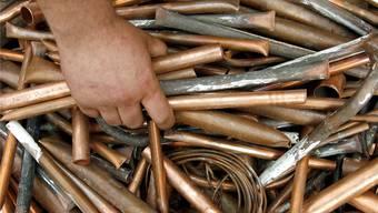 Der Angeklagte griff gleich 13 Mal bei den Kupfervorräten zu – stets beim selben Bauunternehmen.