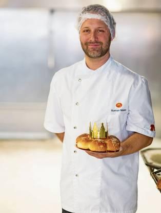 Roman Maier, Geschäftsführer der Bäckerei Maier.