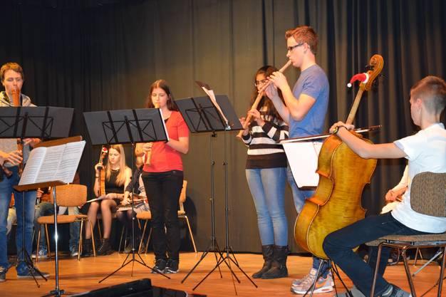 Blockflöten-Gruppe