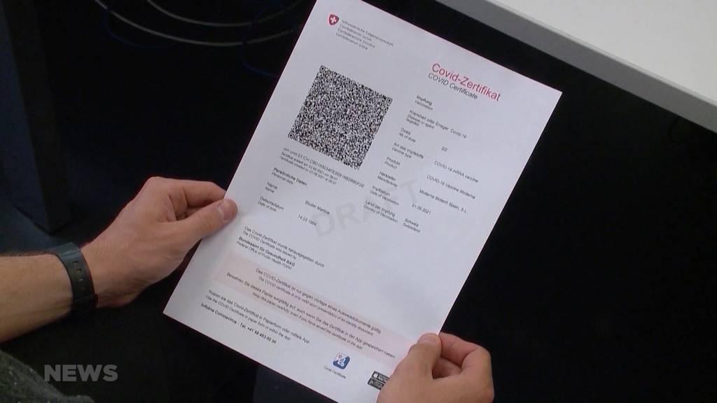 Bundesrat entscheidet: Covid-Zertifikats-Pflicht soll vorerst nicht ausgeweitet werden
