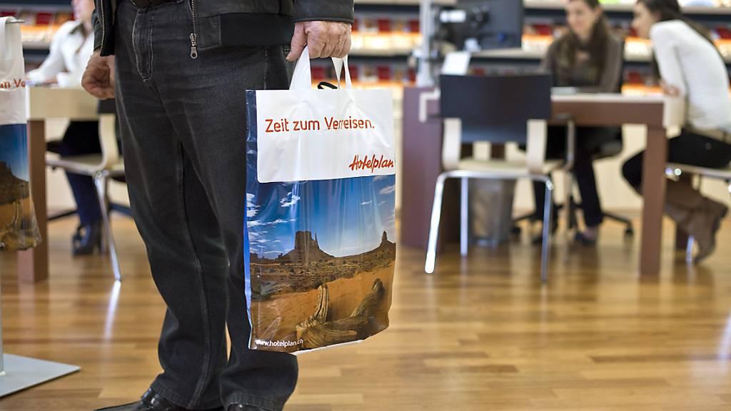 Harte Zeiten für die Reisebranche: ein Reisebüro in Zürich (Archivbild).