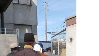 Ünser Bild stammt von einem Nothilfezentrum für abgewiesene Asylbewerber.