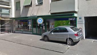 Am Donnerstagabend wurden aus dem Breisacher Shop mehrere hundert Franken geklaut.
