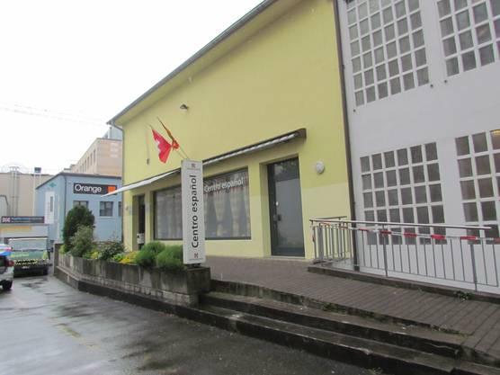 Das Zentrum des spanischen Vereins in Wohlen.