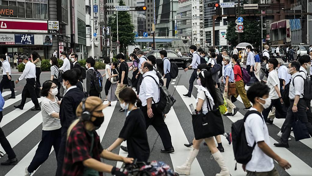 Im Grossraum Tokio leben fast 40 Millionen Menschen