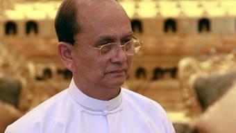 Fährt einen Öffnungskurs: Der burmesische Präsident Thein Sein (Archiv)