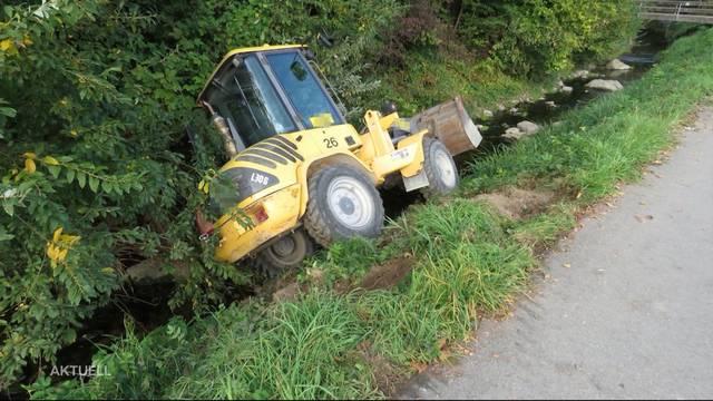 Grosser Schaden nach Lausbubenstreich in Muri