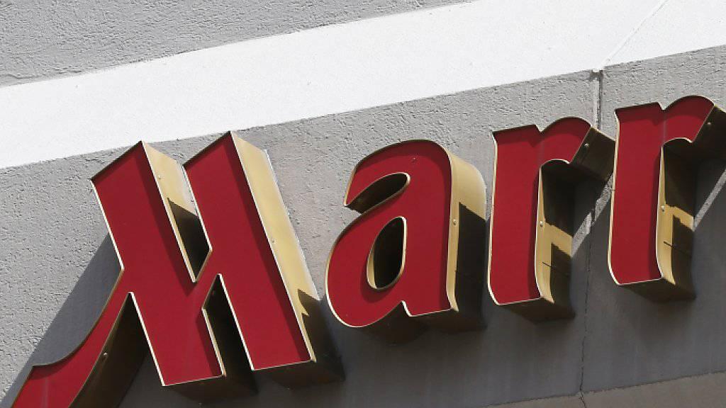 Die Hotelgruppe Marriott hat im zweiten Geschäftsquartal einen Gewinneinbruch erlitten und malt auch keine rosigen Aussichten für den Rest des Geschäftsjahres. (Archivbild)
