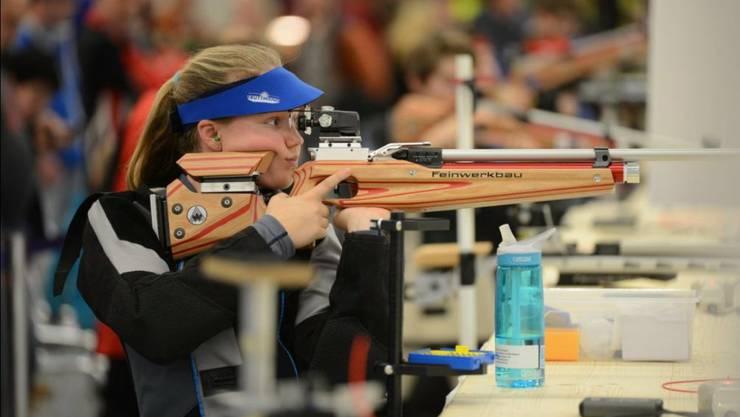 Junioren-Gold für Gewehrschützin Larissa Donatiello (Gretzenbach)