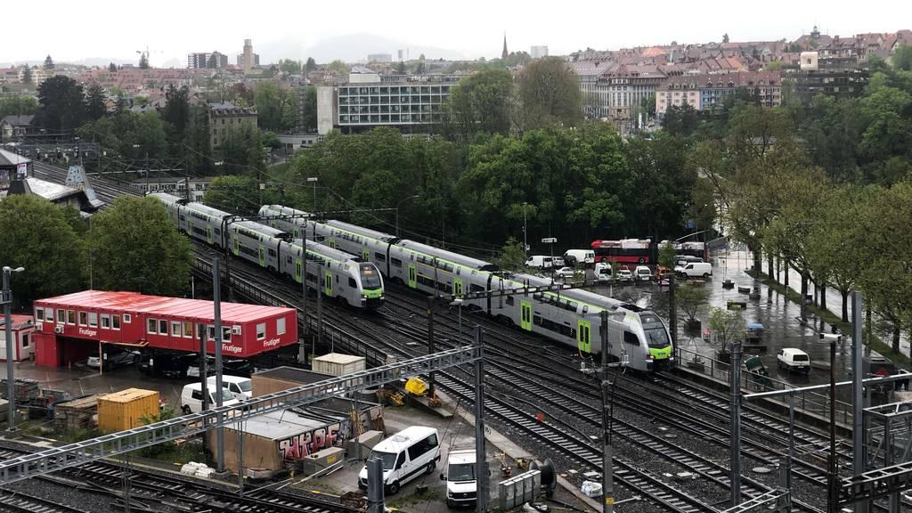 Massive Einschränkungen am Bahnhof Bern
