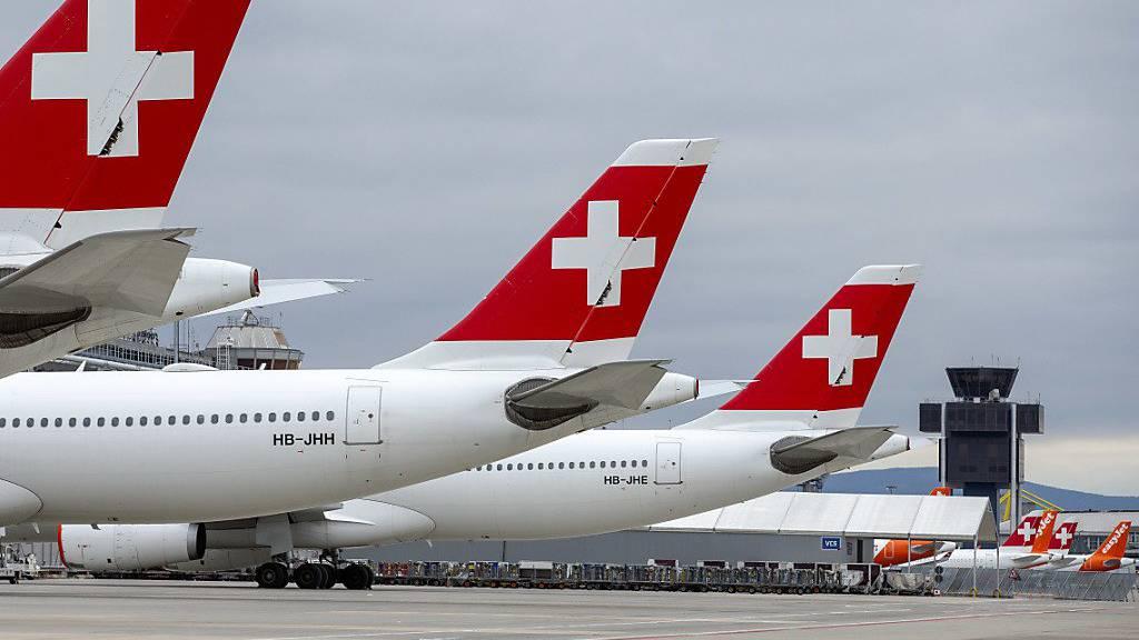 Swiss-Passagiere müssen eine Maske tragen