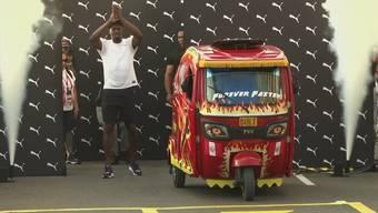 Usain Bolt: Schneller als ein Motorradtaxi?