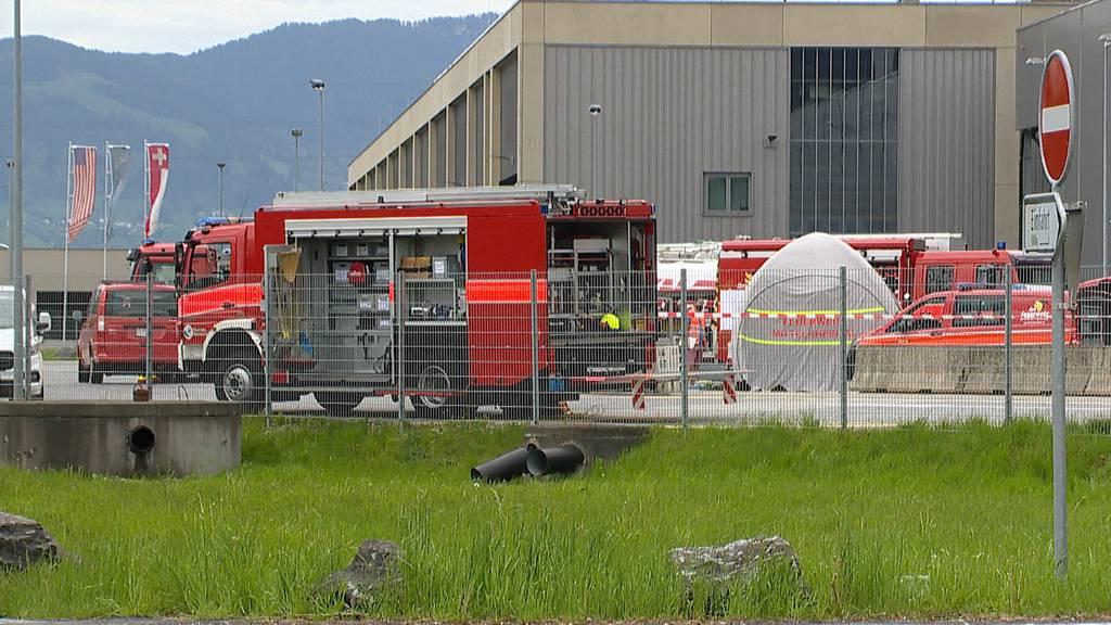Widnau (SG): Ammoniak ausgetreten - 2 Personen hospitalisiert