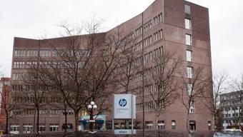 Steht bald leer: der HP-Sitz in Rüsselsheim