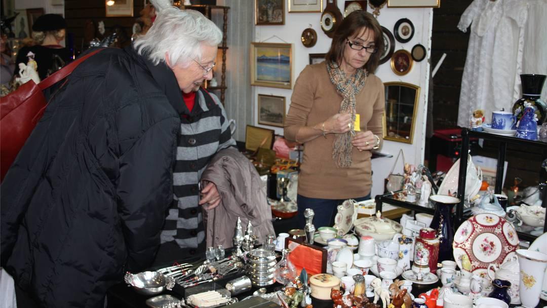 Antiquitätenmesse in Wettingen