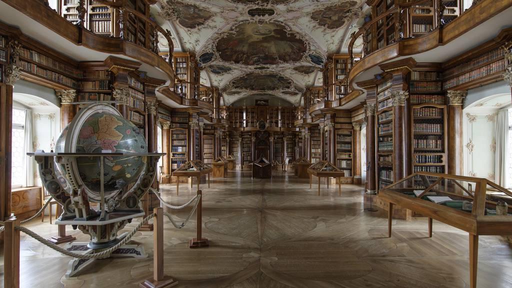 St.Galler Stiftsbibliothek erhält 180'000 Franken vom Bund