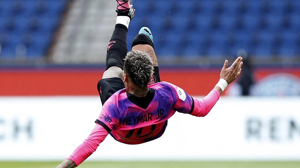 Neymar turnt und trifft in der Liga