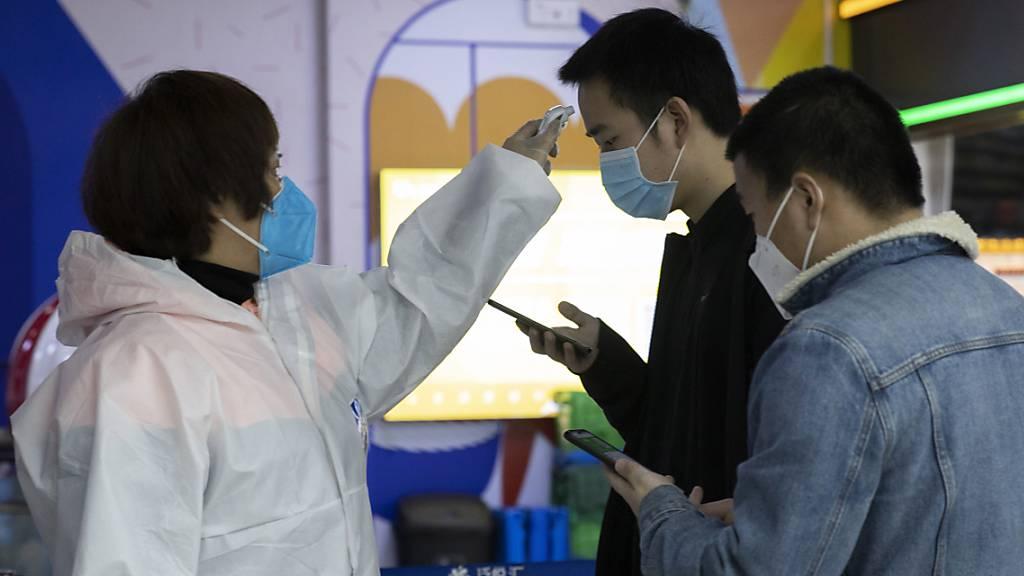 China meldet leichten Anstieg von Coronavirus-Infektionen