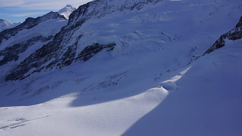 61-jähriger Mann stirbt im Jungfraugebiet in Gletscherspalte