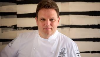 Küchenchef Andy Zaugg kochte mit Urban Schiess und Boris Walker.