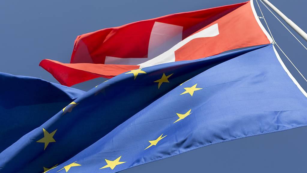 Laut einer Umfrage unterstützt eine Mehrheit der Schweizer Bevölkerung das institutionelle Rahmenabkommen mit der EU. (Symbolbild)